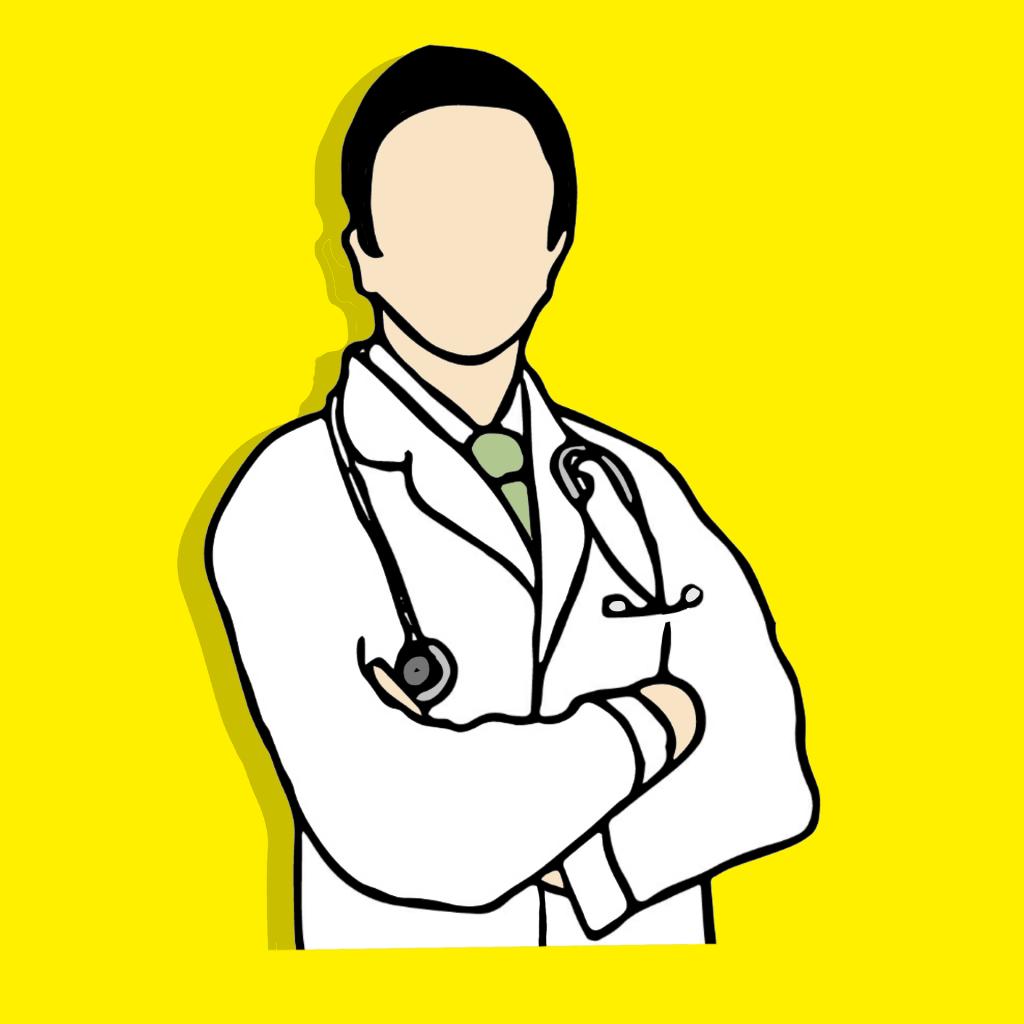 medico dibujado